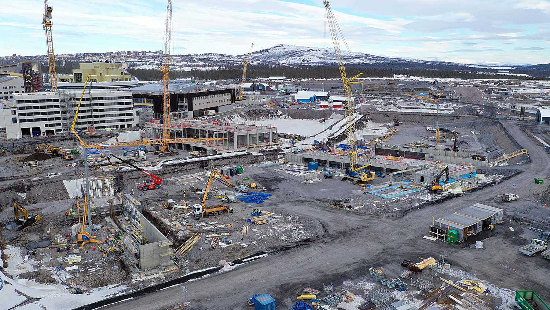 Nya Kiruna Centrum April 2020 North 68 stadsomvandling LKAB